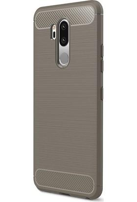 Ehr. LG G7 Room TPU Ultra Lüx Silikon Kılıf + Ekran Koruyucu Cam