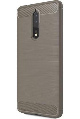 Ehr. Nokia 8 Room TPU Ultra Lüx Silikon Kılıf + Ekran Koruyucu Cam