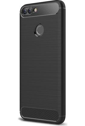 Ehr. Huawei P Smart Room TPU Ultra Lüx Silikon Kılıf + Ekran Koruyucu Cam