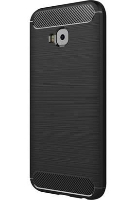 Ehr. Asus Zenfone 4 Selfie ZD553KL Room TPU Ultra Lüx Silikon Kılıf + Ekran Koruyucu Cam