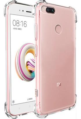 Ehr. Xiaomi Mi 5X Dört Köşeli Darbeye Karşı Ultra Lüx Anti Shock Silikon Kılıf
