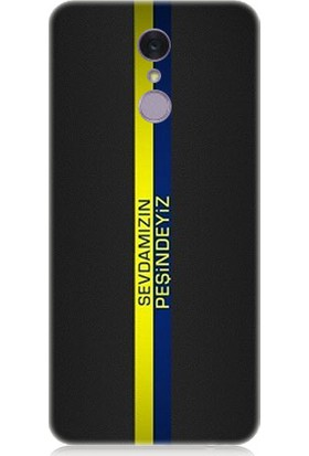 Teknomeg Lg Q7 Sarı Lacivert Sevda Desenli Silikon Kılıf