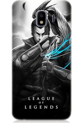 Teknomeg Samsung Galaxy J4 Duo League Of Legends Yasuo Desenli Silikon Kılıf