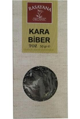 Rasayana Organik Kara Biber Toz 50 gr