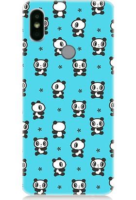 Teknomeg Xiaomi Redmi S2 Ufak Pandalar Desenli Silikon Kılıf