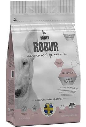 Robur Sensitive Single Protein Somonlu Köpek Maması 12,5 kg