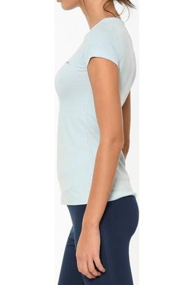 Slazenger Sıena Kadın T-Shirt Mavi