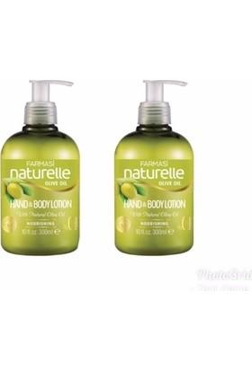 Farmasi Naturelle Zeytinyağlı Besleyici El Ve Vücut Losyonu 300 ml 2'li Set