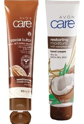 Avon Care Hindistan Cevizi Yağı İçeren El Kremi+ Care Kakao Yağı Ve E Vitamini İçeren El, Tırnak Ve Kütikül Kremi