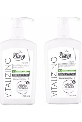 Farmasi Dr.C.Tuna Vıtalızıng Çörek Otu Yağı Şampuanı 500 ml 2 'li Set