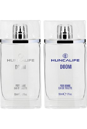 Huncalife Doom Homme Erkek Edt 50 ml + Doom Femme Kadın Edt 50 ml