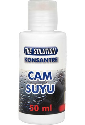 The Solution Konsantre Cam Suyu Temizleyici 50ml/5LT