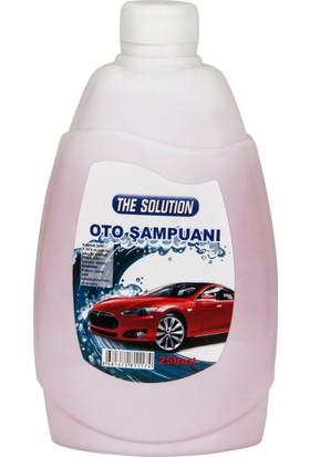 The Solution Araç Temizleme Şampuanı ve Süngeri