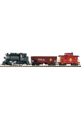 Piko 37104 1/22,5 G-Starter Set Sf Freight Train