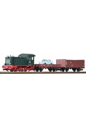 Piko 37121 1/22,5 Dr V20 Freight Starter Set W/Sound