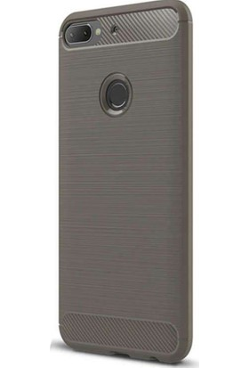 CoverZone HTC Desire 12 Kılıf Room Extereme Silikon Antrasit