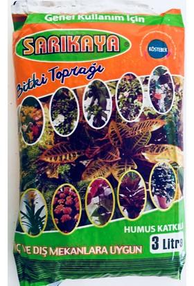 Sarıkaya 3L Bitki Toprağı Torf (Humus Katkılı)