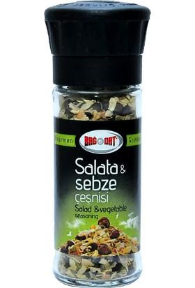 Bağdat Baharat Salata ve Sebze Çeşnisi Cam Değirmen 45 gr