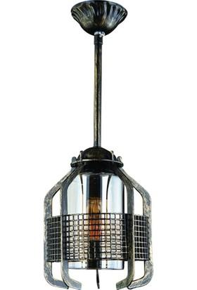 Jaka Light 00040 Tekli Siyah Patinalı Avize