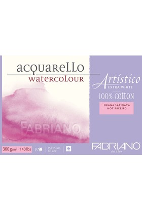 Fabriano Artistico Sulu Boya Blok 300Gr. 35,5X51Cm N:00303551