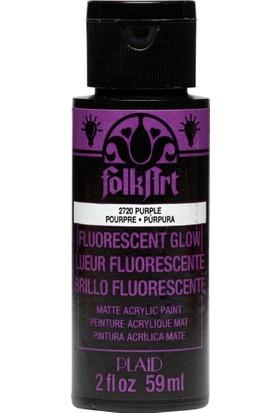 Plaid Folkart Fosforlu Akrilik Boya 59 Ml - 2720 Purple