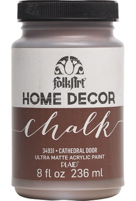 Plaid Folkart Chalk - Home Decor 236Ml Cathedral Door
