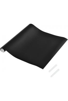 Hdg Akıllı Kağıt Kara Tahta Akıllı Kağıt Yazı Tahtası Siyah 70X100 Cm - Çift Taraflı Bant Ve Tebeşir Hediye