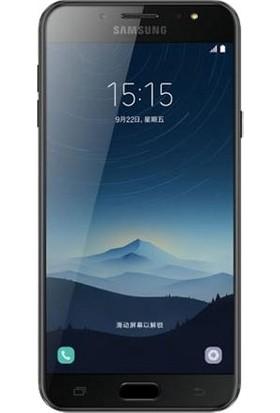 Dafoni Samsung Galaxy C8 Tempered Glass Premium Cam Ekran Koruyucu