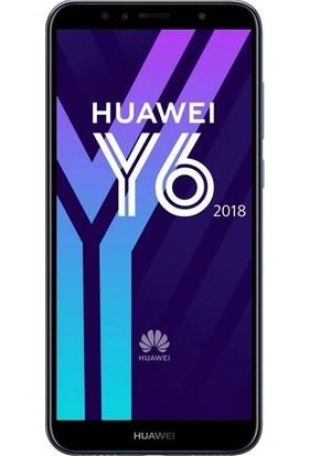 Dafoni Huawei Y6 2018 Tempered Glass Premium Cam Ekran Koruyucu