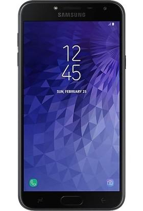 Dafoni Samsung Galaxy J4 Tempered Glass Premium Cam Ekran Koruyucu