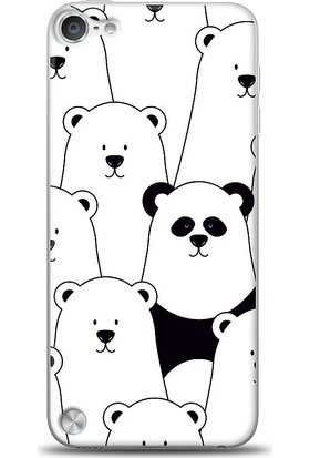 Eiroo iPod Touch 5 Lonely Panda Kılıf