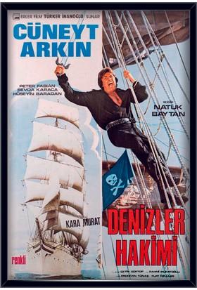 Denizler Hakimi Çerçeveli Film Afişi - Posteri