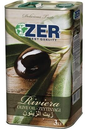 Zer Zeytinyağı Riviera 3 lt (Teneke)