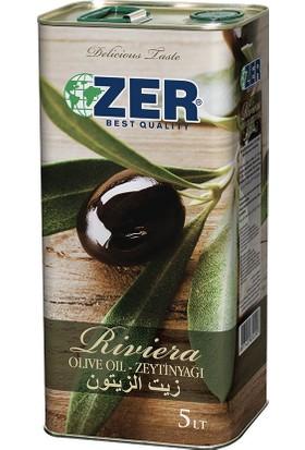 Zer Zeytinyağı Riviera 5 lt (Teneke)