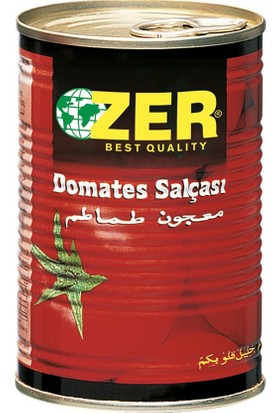 Zer Domates Salçası 400 gr