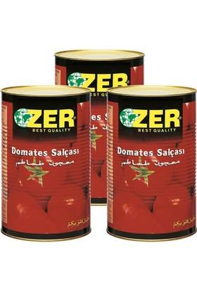 Zer Domates Salçası 4,5 kg x 3 Adet