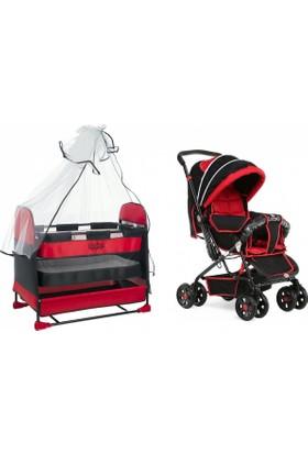Rival Beşik Bebek Sepet Beşiği Çift Yönlü Bebek Arabası Puset