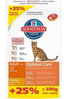 Hills Adult Tavuklu Yetişkin Kedi Maması 2,5 Kg Bonus Paket