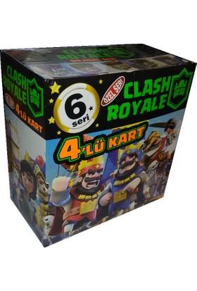 Clash Royale 6. Seri Oyun Kartları 120x4'lü Kart
