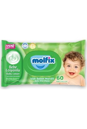Molfix Islak Bebek Mendili 60'lı