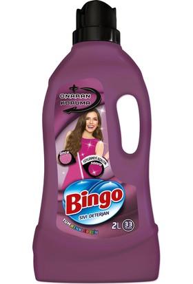 Bingo Onaran Koruma Sıvı Bakım Çamaşır Deterjanı 2L