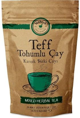Teaherb Teff Tohumlu Çay 20 Adet Süzen Poşet 3 Adet