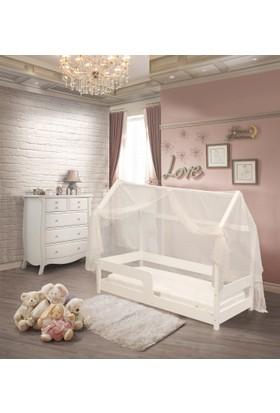 Lava Baby 90x190 Montesorri Beşik + Cibinlik Tül