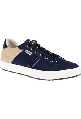 Carrano C11563 Günlük Erkek Ayakkabı Lacivert Bej