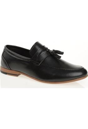 Carrano G11505 Günlük Erkek Ayakkabı Siyah Cilt