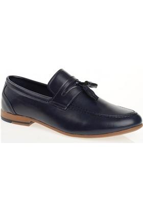 Carrano G11515 Günlük Erkek Ayakkabı Lacivert Cilt