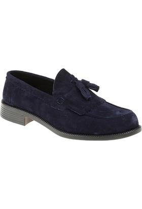 Carrano Y101115 Günlük Erkek Ayakkabı %100 Hakiki Deri Lacivert Süet