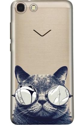 Kılıfland Vestel Venüs V4 Silikon Arka Kapak - Cix Kedi