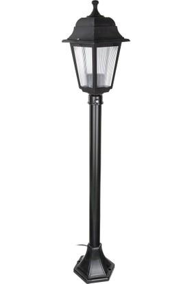 Modelight Optik Kare Çim Direği (1 Mt) Siyah