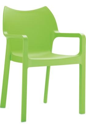 Siesta Contract Diva Sandalye Yeşil